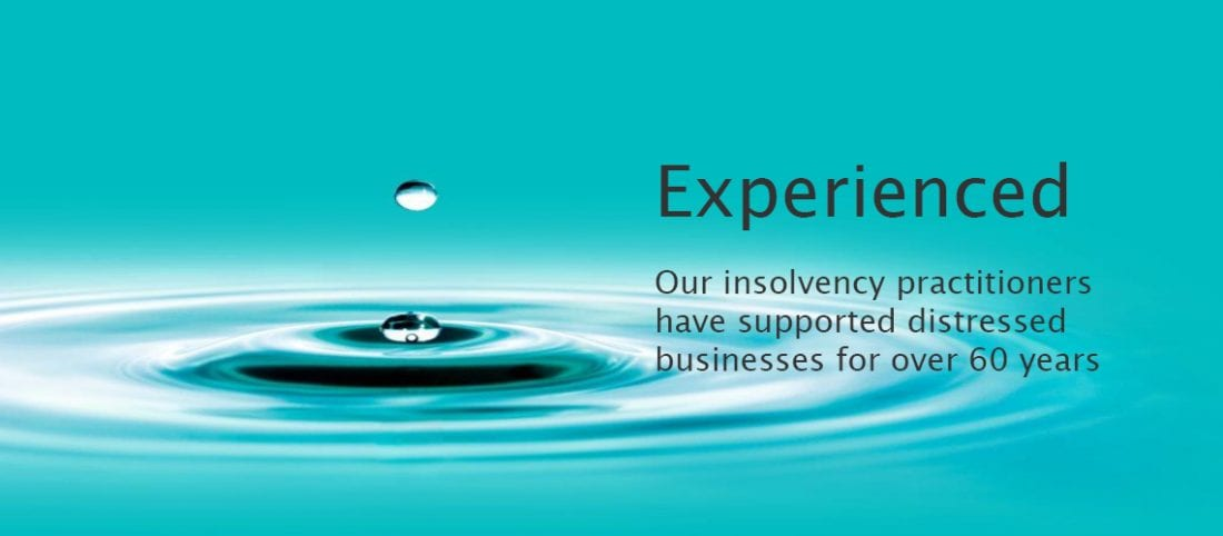 Experienced insolvency slider